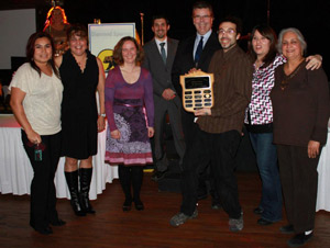 Skeena Diversity Team at Business Excellence Awards 2012